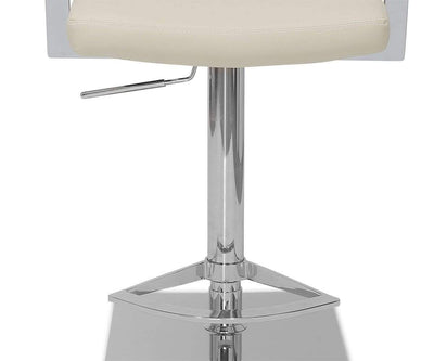 Kent Adjustable Barstool Cream - Scandinavian Designs