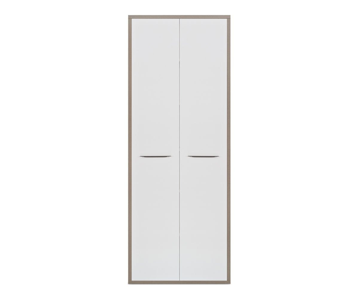 Gammel High Bookcase Door Set WHITE - Scandinavian Designs