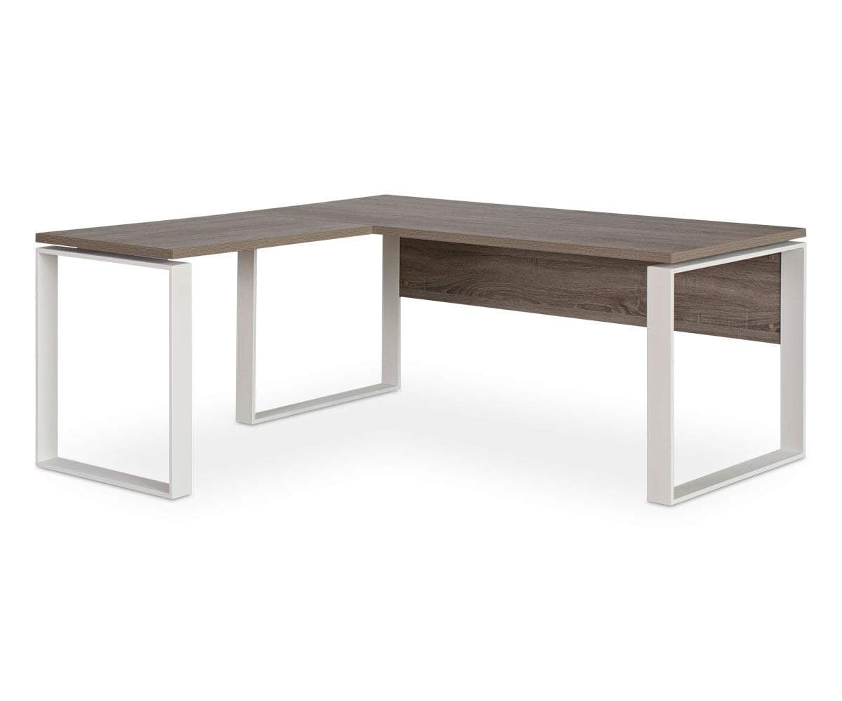 Gammel Return Desk TRUFFLE OAK - Scandinavian Designs