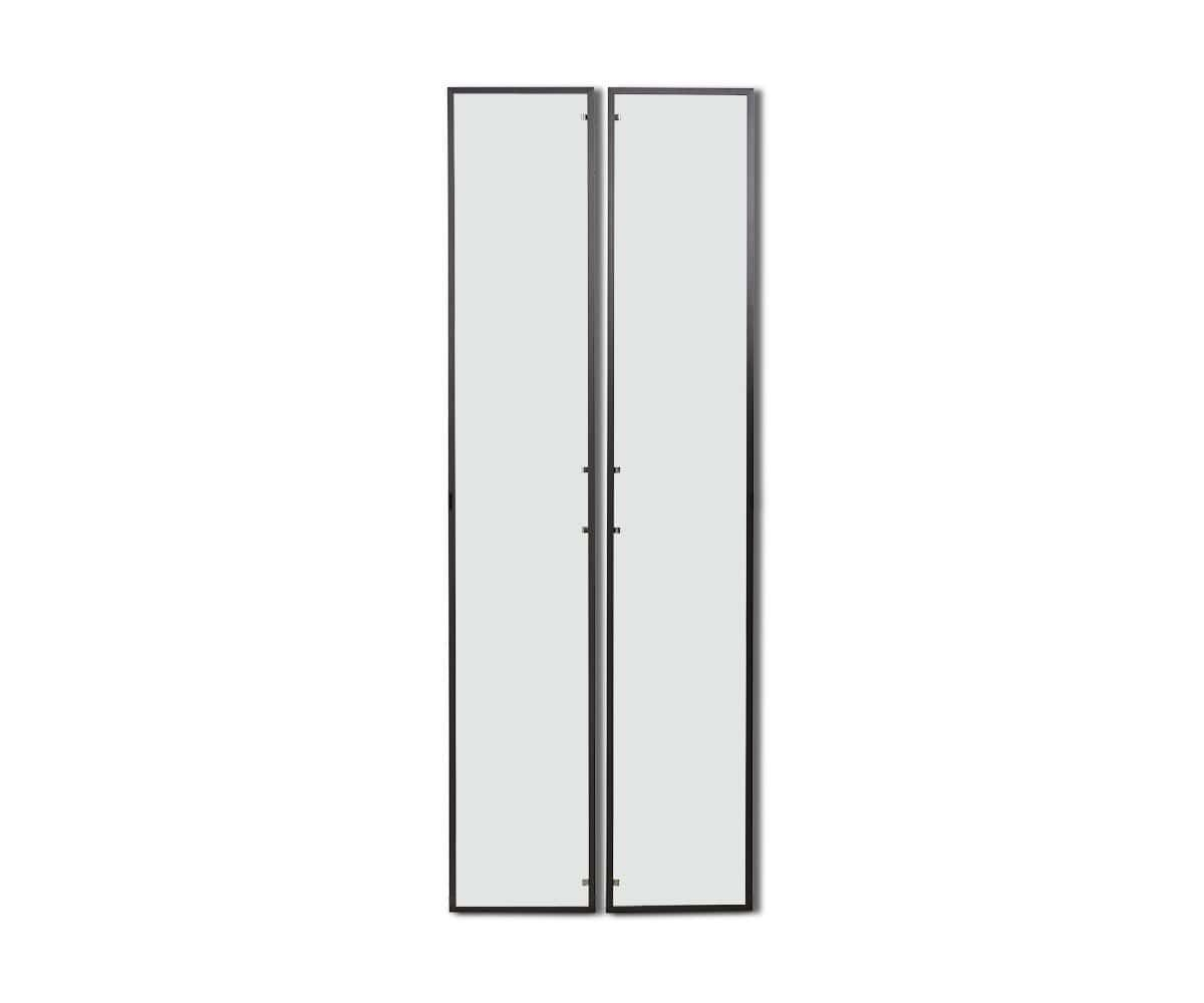 Gammel High Bookcase Single Glass Door Glass - Scandinavian Designs