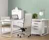 "Gammel 67"" Desk - White White - Scandinavian Designs"