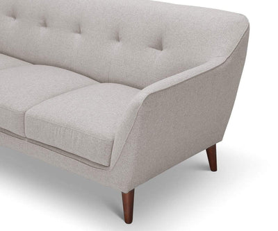 Dakota Sofa Concrete Grey - Scandinavian Designs