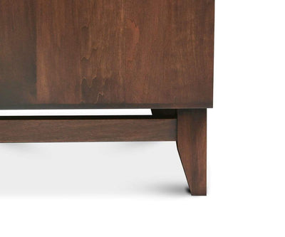 Kelby High Chest Walnut Stain - Scandinavian Designs
