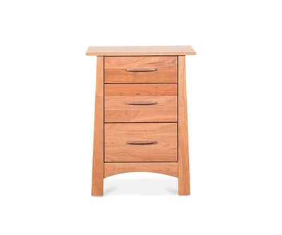 Reflections 3 Drawer Nightstand REFLECTIONS CHERRY - Scandinavian Designs
