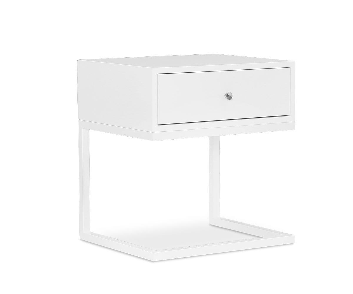 Aland Nightstand White - Scandinavian Designs