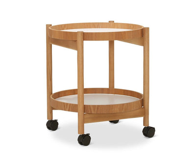 Skarnes Bar Cart Skarnes Natural Ash - Scandinavian Designs