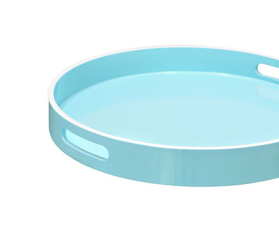 Etne Round Serving Tray Light Blue - Scandinavian Designs