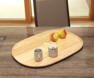 Oyer Oval Serving Tray - Ash - Scandinavian Designs