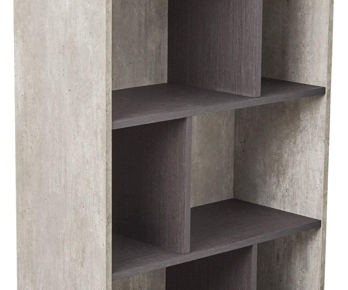 Alva Low Bookcase Alva Grey - Scandinavian Designs