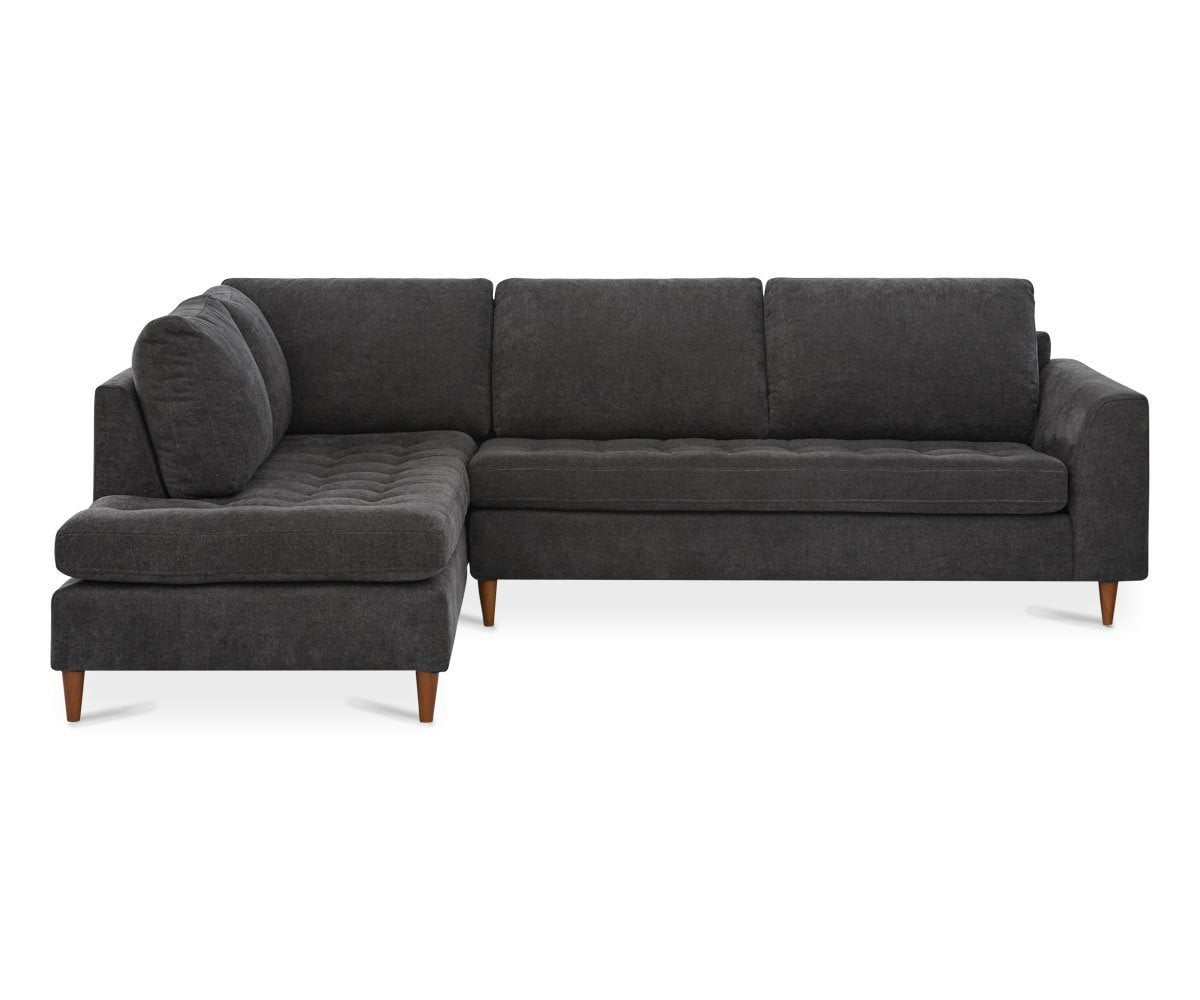 Colm Left Sectional ZEPHYR SLATE - Scandinavian Designs