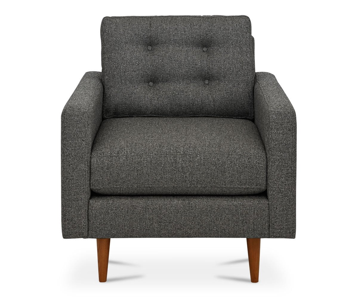 Everly Chair - Smoke Fruity Pebble Smoke - Scandinavian Designs