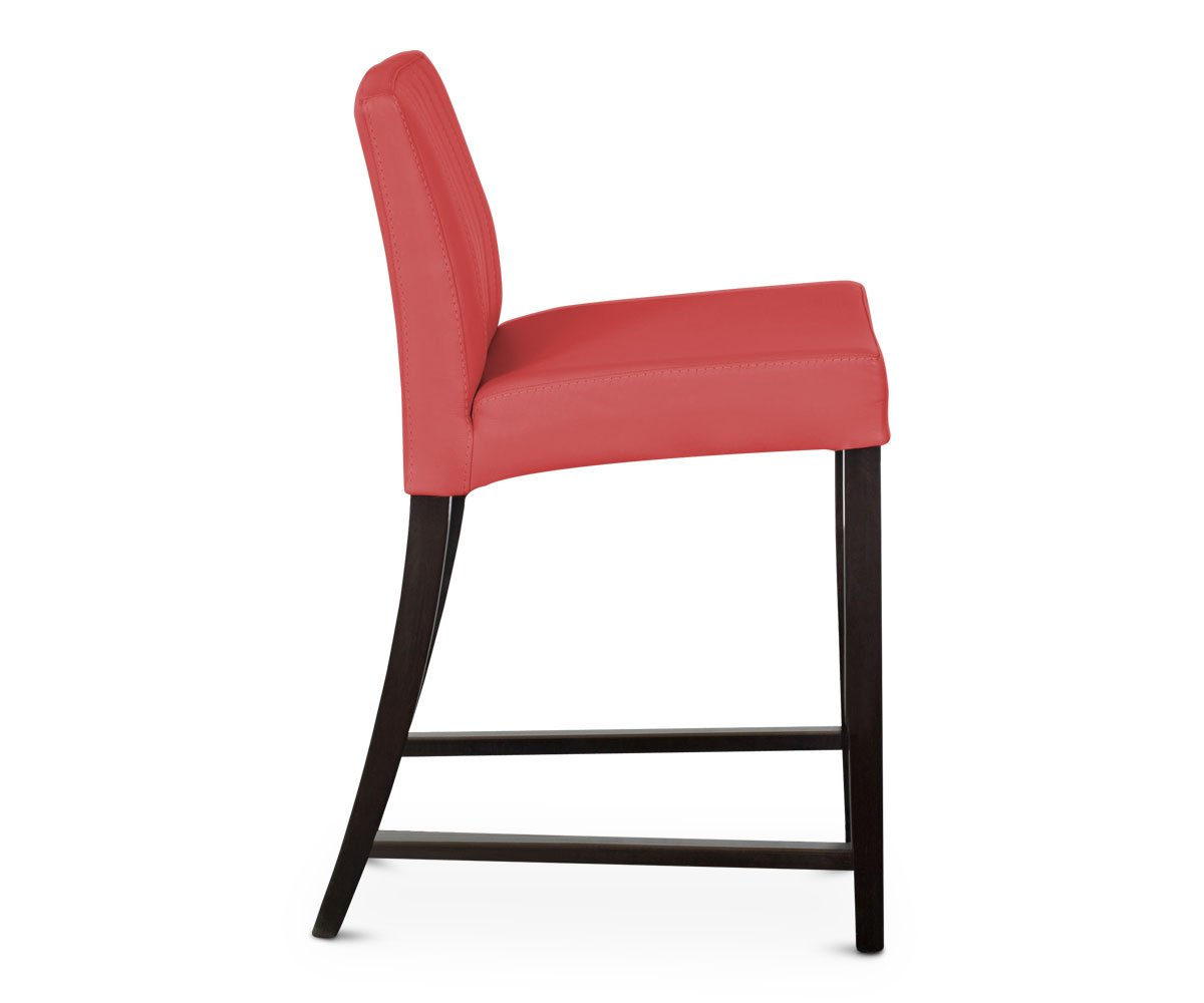 Barrima Counter Stool - Red/Venge - Scandinavian Designs