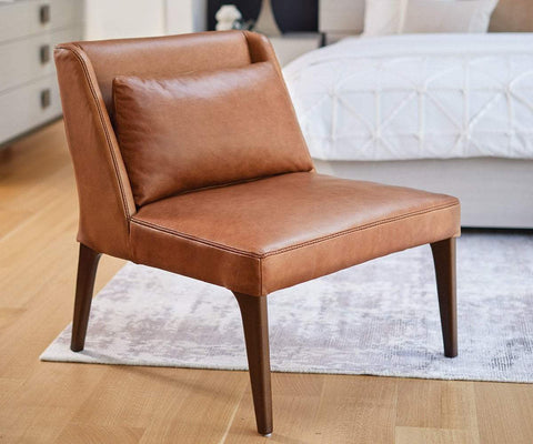 Eilert Chair Vintage Saddle - Scandinavian Designs