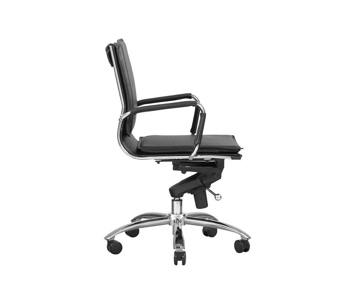 Brock Low Back Office Chair - Scandinavian Designs