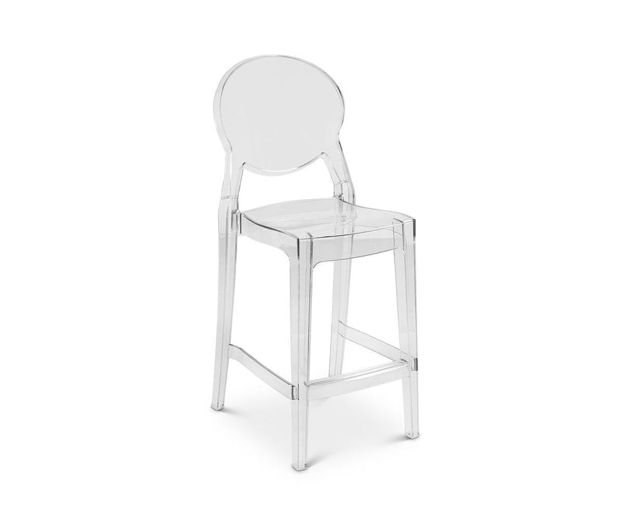 Prisma Clear Counter Stool