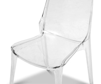 Frysta Clear Side Chair Clear - Scandinavian Designs