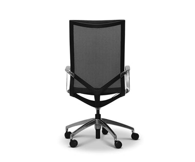 Innri High Back Office Chair Black - Scandinavian Designs