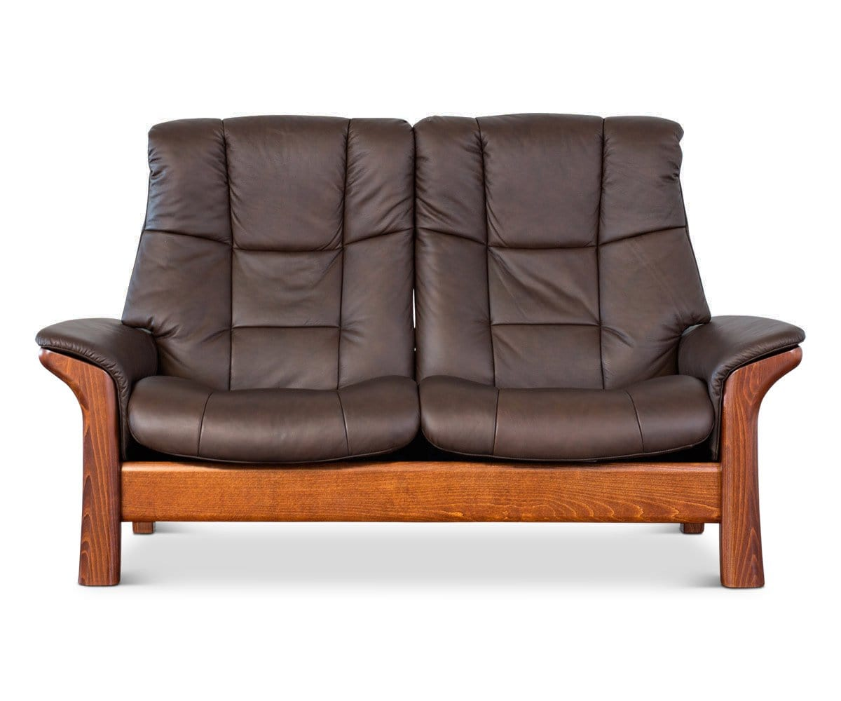 loveseat back rock stressless by from high legend