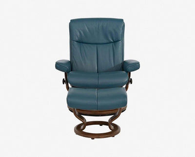 Stressless® Peace Recliner & Ottoman - Scandinavian Designs