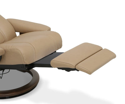 Stressless® Wing Power Recliner Medium / Paloma Sand - Scandinavian Designs