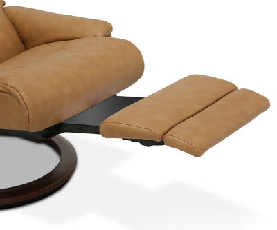 Stressless® Sunrise Power Recliner Large / Paloma Taupe - Scandinavian Designs