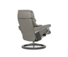 Stressless® Reno Recliner & Ottoman with Signature Base