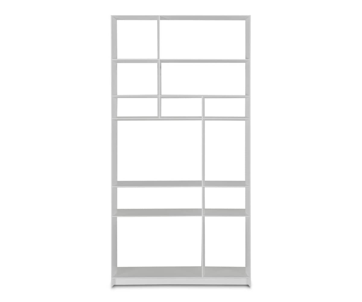Haldi Bookcase I WHITE - Scandinavian Designs