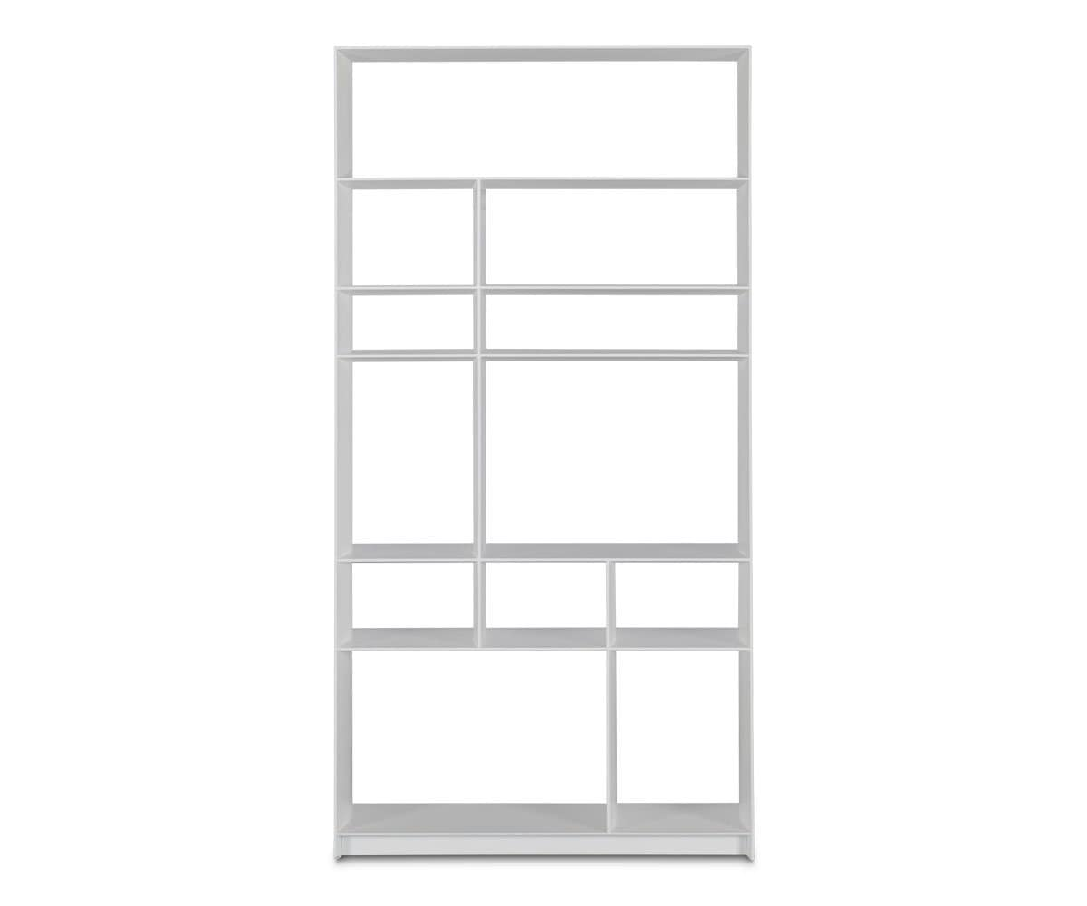 Haldi Bookcase II WHITE - Scandinavian Designs