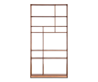 Haldi Bookcase I WALNUT - Scandinavian Designs
