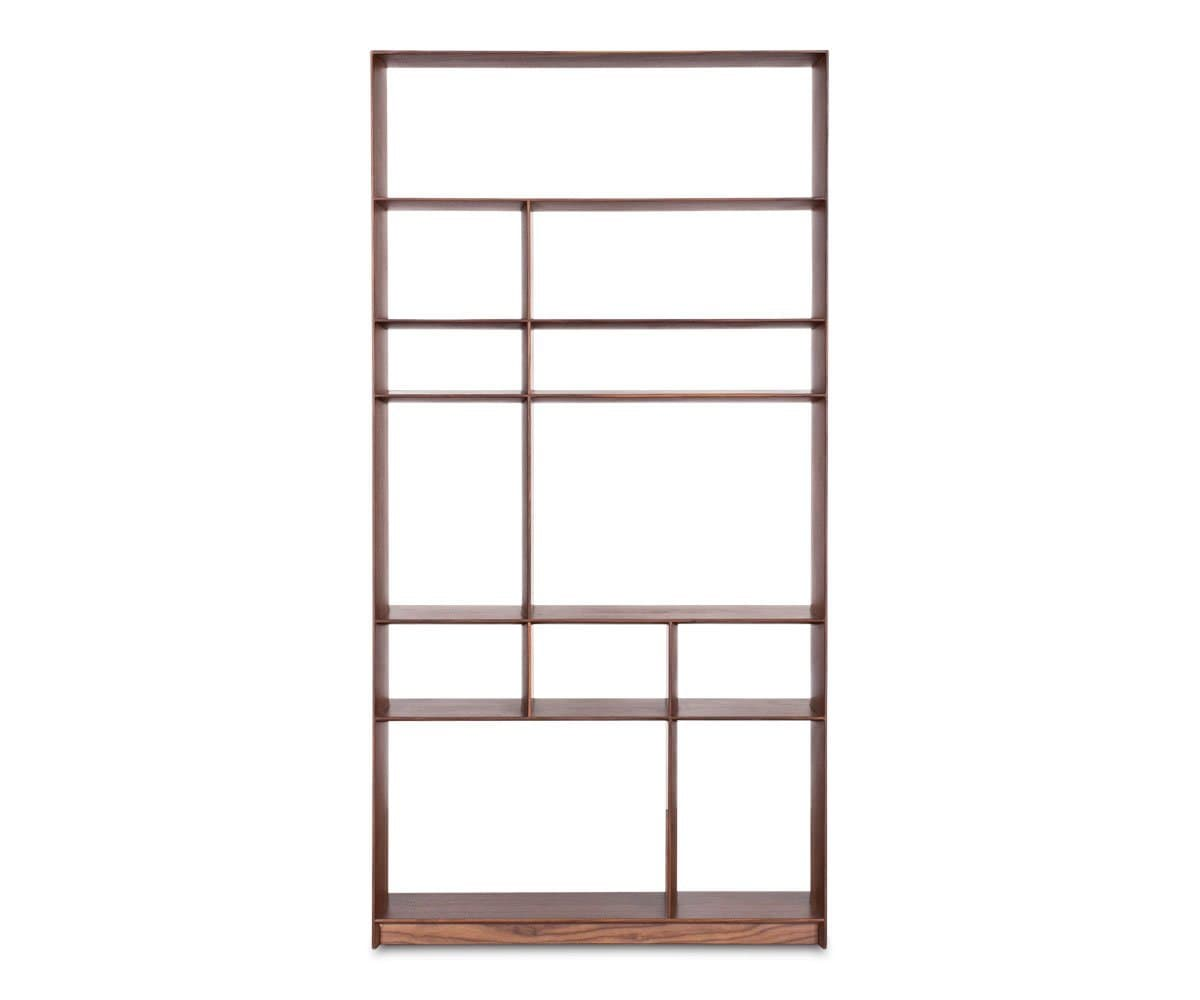Haldi Bookcase II WALNUT - Scandinavian Designs