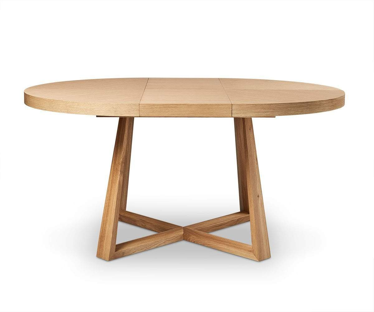 Oliver Round Extension Dining Table   Scandinavian Designs