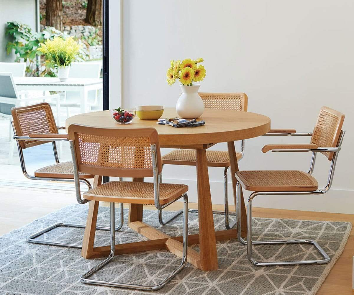Oliver Round Extension Dining Table - Scandinavian Designs