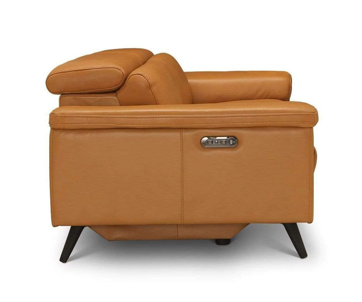Channing Power Reclining Sofa Camel Biscayne - Scandinavian Designs