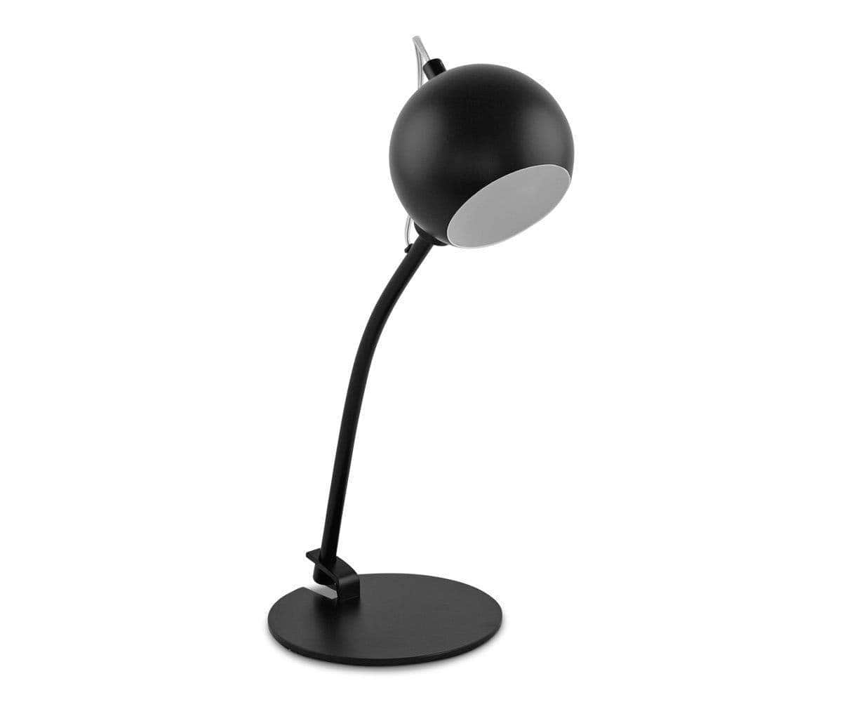 Ball Table Lamp - Black