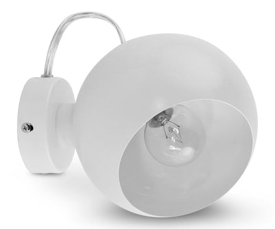 Ball Magnetic Wall Lamp - White - Scandinavian Designs