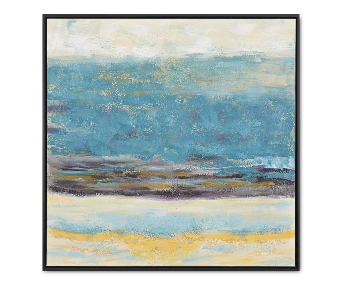 Waterfront Reverie Abstract Blue/Multi - Scandinavian Designs