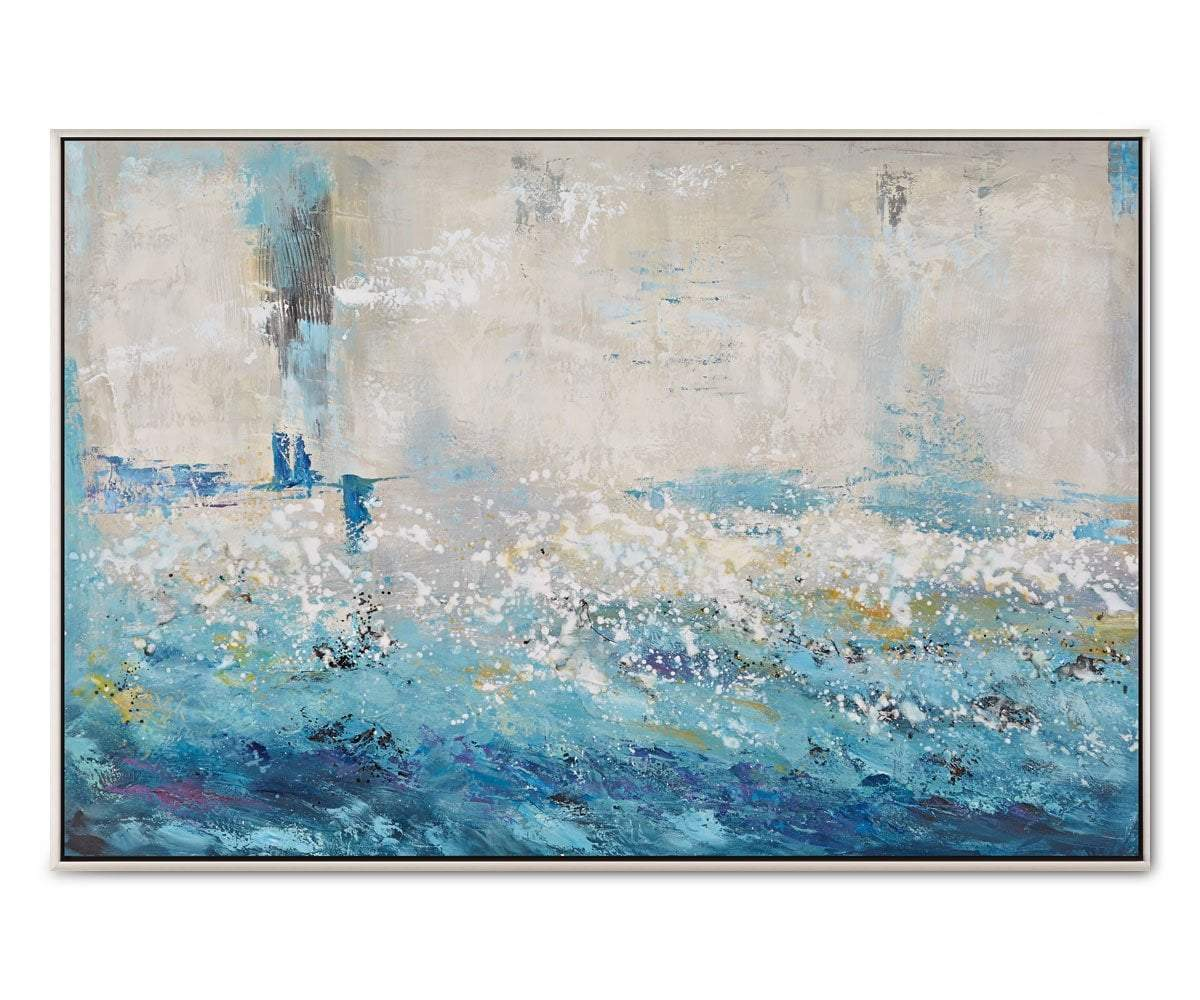 Surging Sea Abstract Blue/Multi - Scandinavian Designs