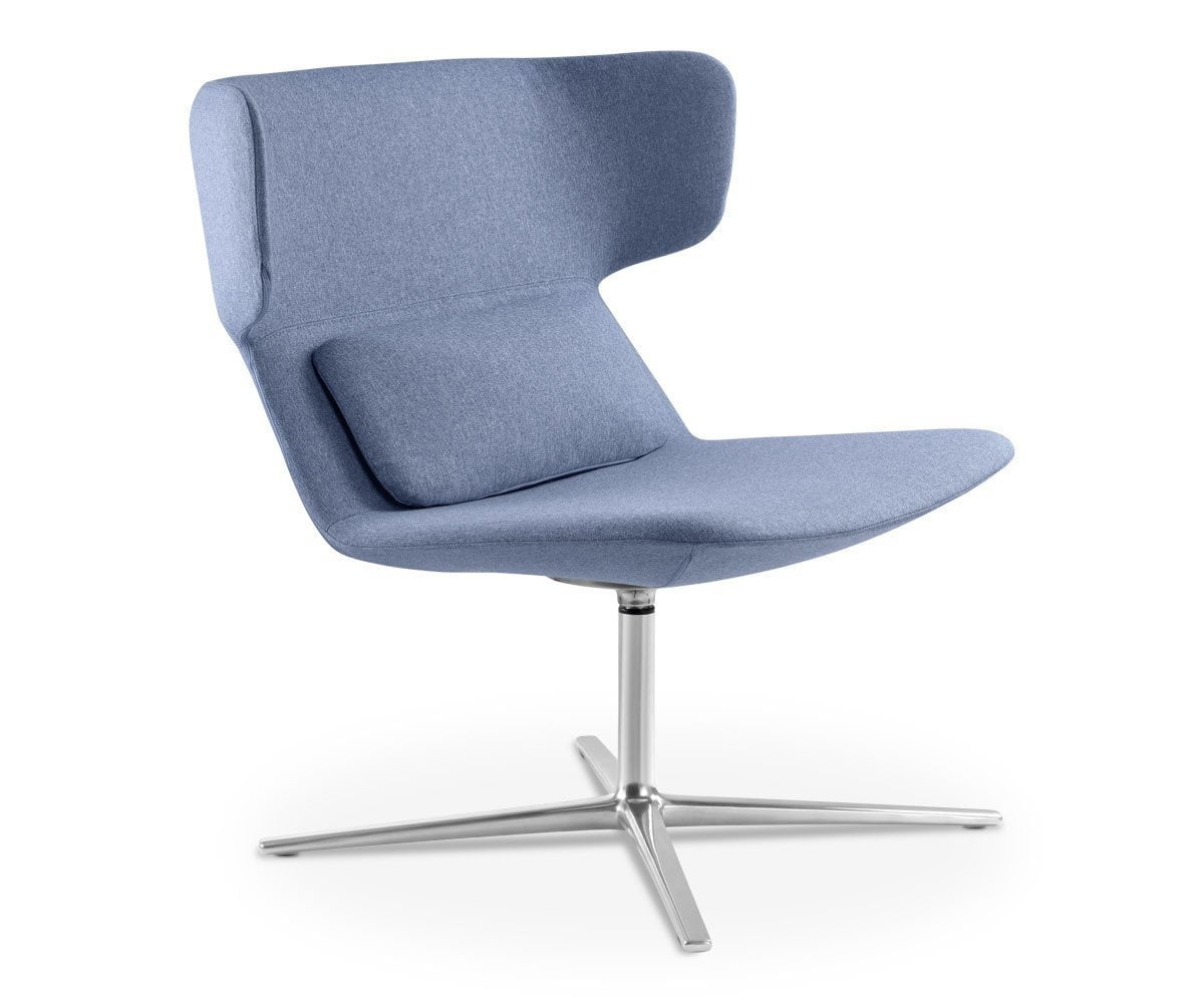 Zander Low Back Chair Blue ACT26 - Scandinavian Designs