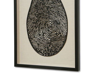 Magnified Identity Art Black/Multi - Scandinavian Designs