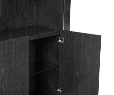 Svante Cabinet Smoked Oak - Scandinavian Designs