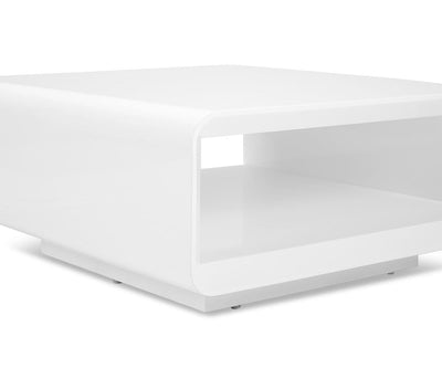 Kopp Square Coffee Table White - Scandinavian Designs