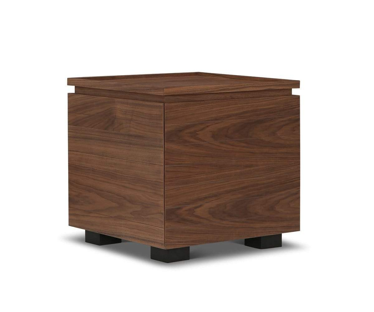Keelan End Table Walnut Veneer - Scandinavian Designs