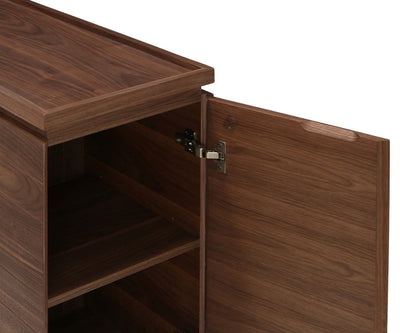 Keelan Console Table Walnut Veneer - Scandinavian Designs
