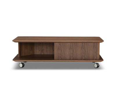 Rorstad Rectangle Coffee Table Walnut Veneer - Scandinavian Designs