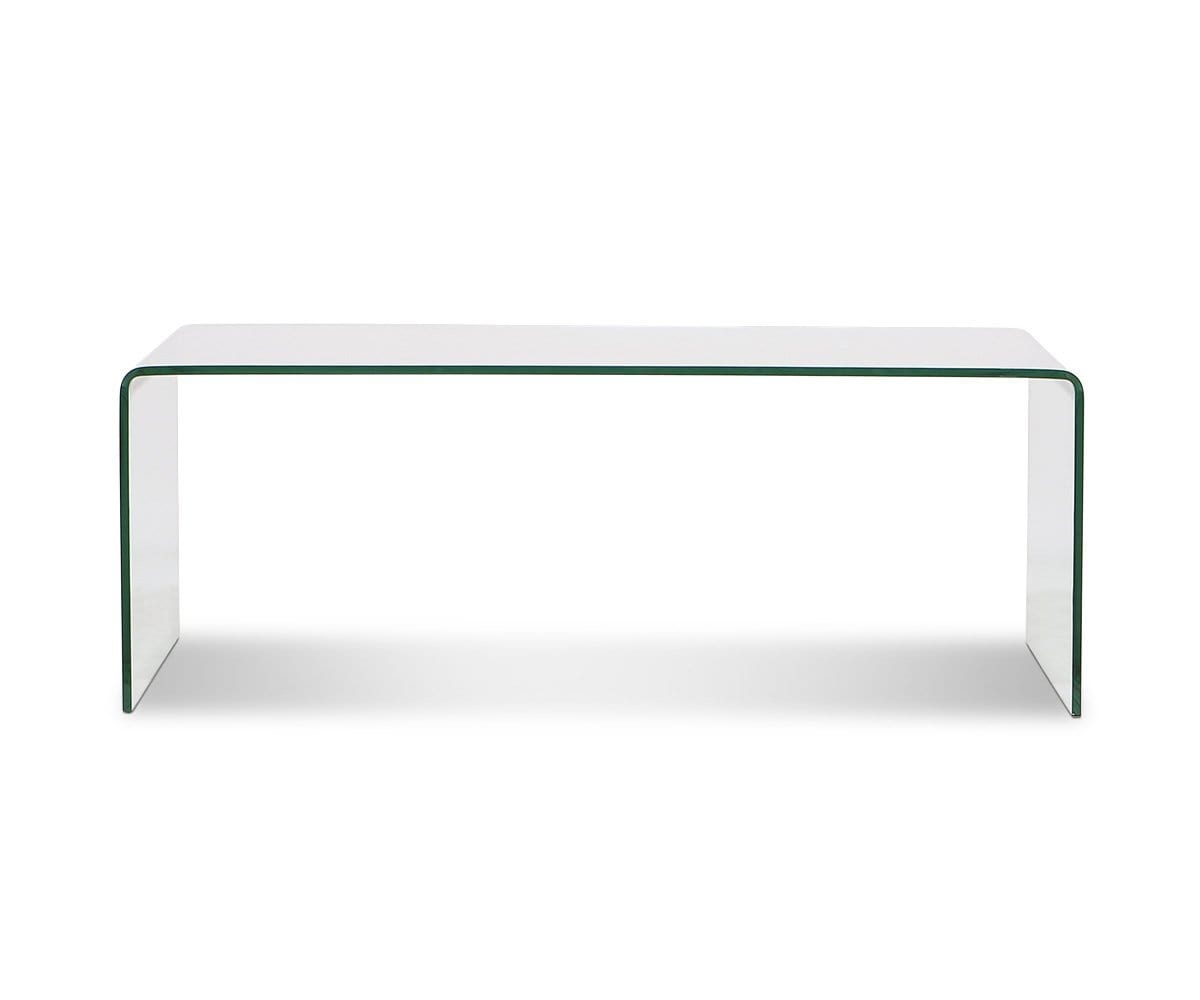 Reese Coffee Table Clear Glass - Scandinavian Designs