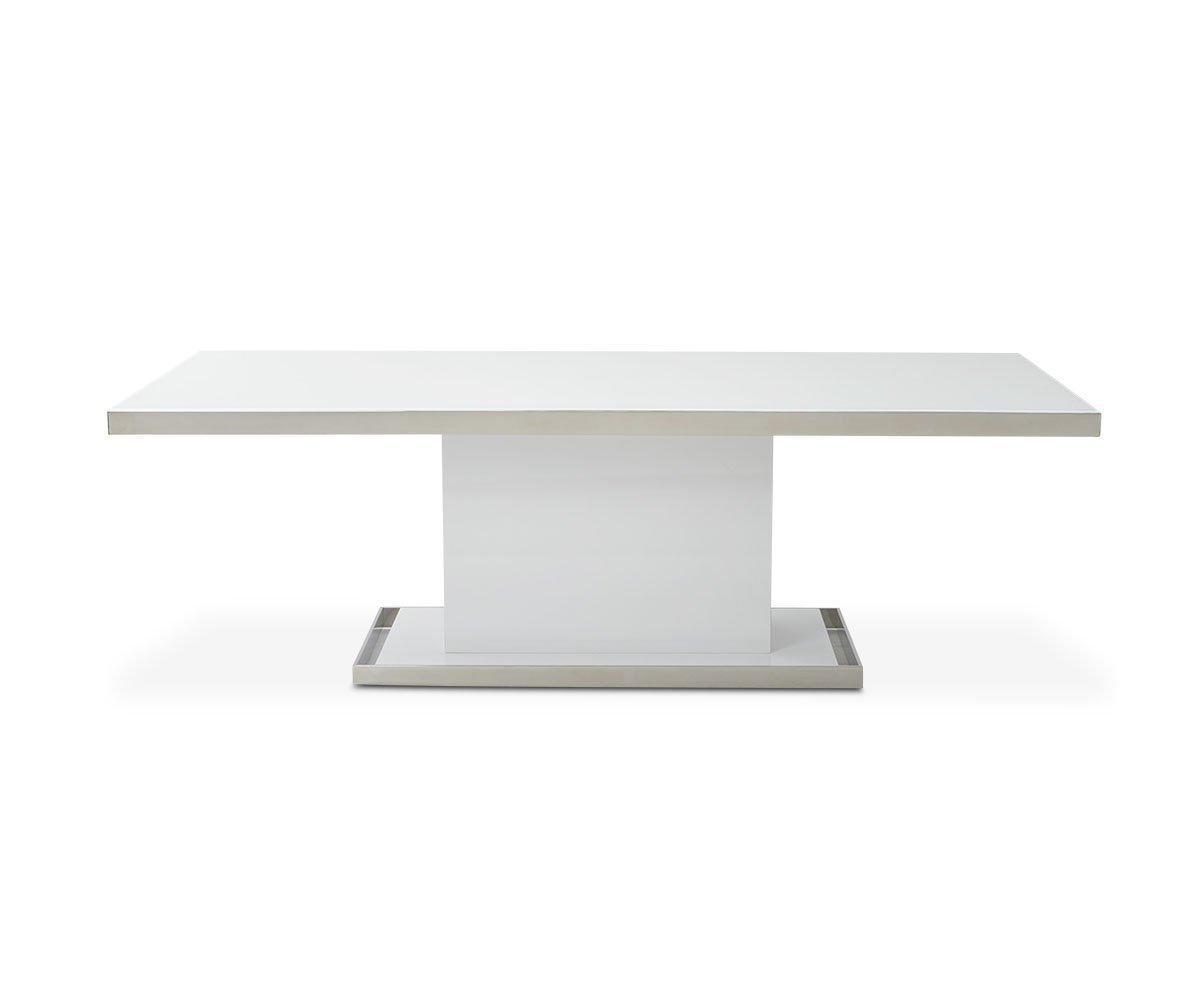"Svante 94"" Dining Table WHITE - Scandinavian Designs"