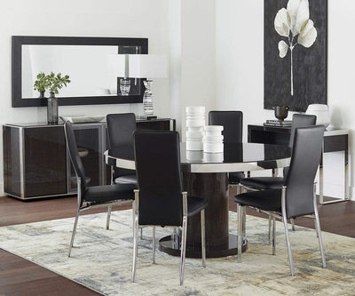 "Svante 60"" Round Dining Table SMOKED OAK - Scandinavian Designs"