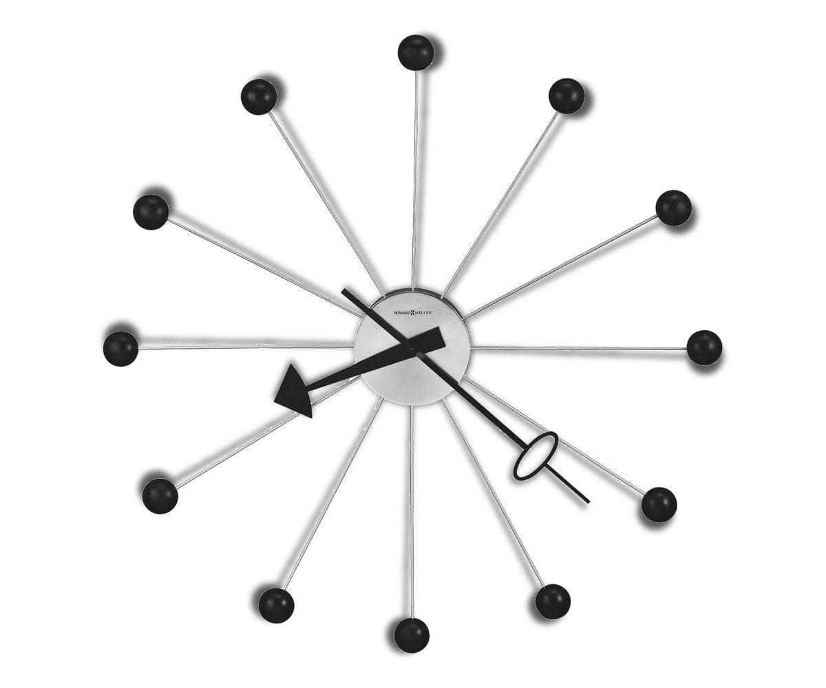 Ball Clock II Wall Clock - Scandinavian Designs