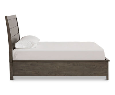 "Carter Storage Bed Carter Grey / QUEEN (64"" W x 89"" D x 55"" H) - Scandinavian Designs"