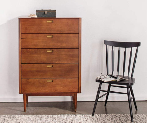 Holfred High Chest TIMBER BROWN - Scandinavian Designs